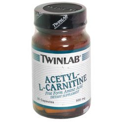 Image 0 of Acetyl-L-Carnitine Caps 30 Cap 1 By Twinlab