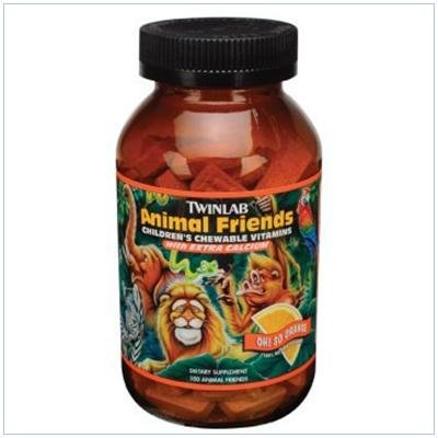 Image 0 of Animal Friends Ornge Chew 50 Ct 1 By Twinlab