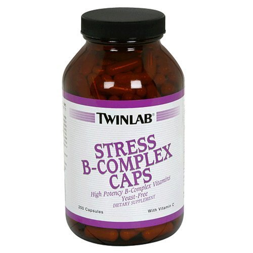 Image 0 of B Complex W/Vit C Stress 100 Cap 1 By Twinlab