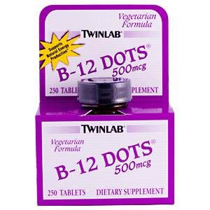 Image 0 of B-12 Dots 500 Mcg 250 Dt 1 By Twinlab