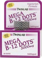 Image 0 of B-12 Dots 5000 Mcg 60 Dt 1 By Twinlab