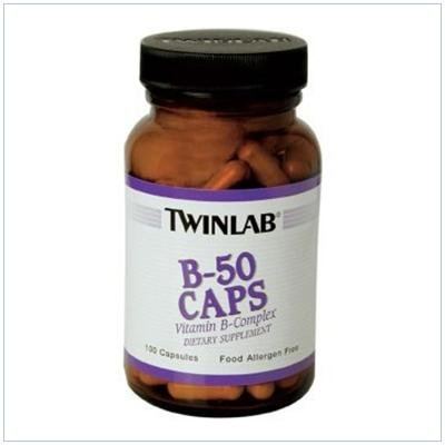 Image 0 of B-50 100 Cap 1 By Twinlab