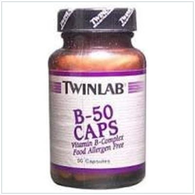 Image 0 of B-50 50 Cap 1 By Twinlab