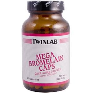 Image 0 of Bromelain Caps Mega 90 Cap 1 By Twinlab