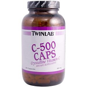 Image 0 of C-500 250 Cap 1 By Twinlab