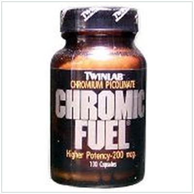 Image 0 of Chromic Fuel 200 Mcg 100 Cap 1 By Twinlab