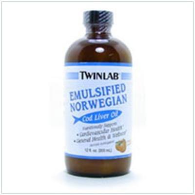 Image 0 of Cod Liver Oil Emul Orange 12 oz 1 By Twinlab