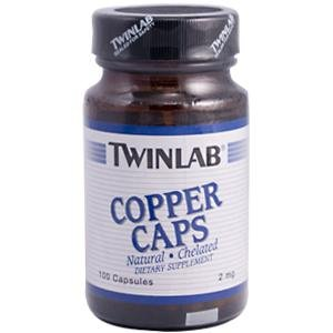 Image 0 of Copper 2 mg 100 Cap 1 By Twinlab