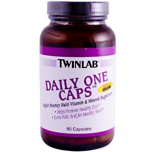 Image 0 of Daily One Without Iron 90 Cap 1 By Twinlab