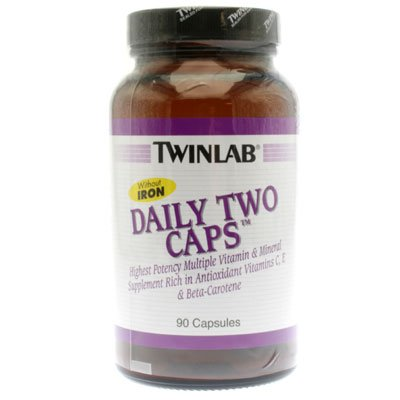 Image 0 of Daily Two Without Iron 90 Cap 1 By Twinlab