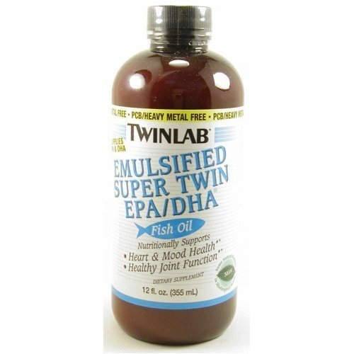 Image 0 of Emul Supr Twn Epa/Dha Mnt 12 oz 1 By Twinlab