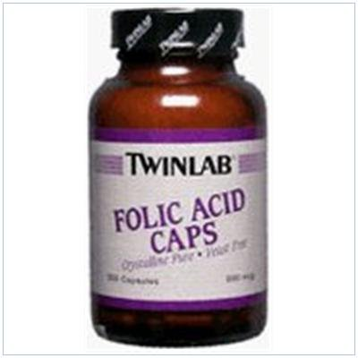 Image 0 of Folic Acid 800Mcg 200 Cap 1 By Twinlab