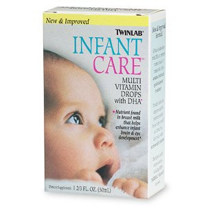 Image 0 of Infant Care Multi-Vitamin 1.7 oz 1 By Twinlab