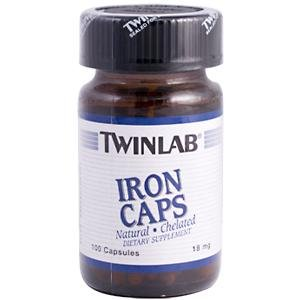 Image 0 of Iron 18 mg 100 Cap 1 By Twinlab