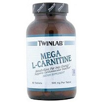 Image 0 of L Carnitine 500mg Mega 90 Tab 1 By Twinlab