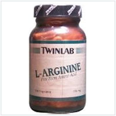 Image 0 of L-Arginine 500mg  100 Cap  1 By Twinlab