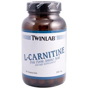 Image 0 of L-Carnitine 250 mg 90 Cap 1 By Twinlab