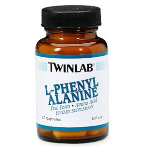 Image 0 of L-Phenylalanine 500mg  60 Cap  1 By Twinlab