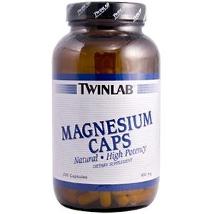 Image 0 of Magnesium 400 mg 200 Cap 1 By Twinlab