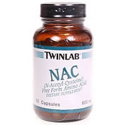 Image 0 of Nac N-Acetylcystien 600Mg 60 Cap 1 By Twinlab
