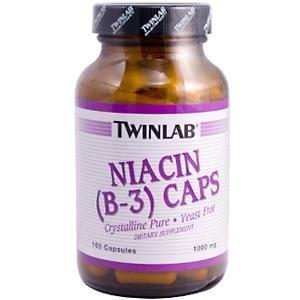 Image 0 of Niacin (B-3) 1000mg 100 Cap 1 By Twinlab