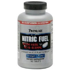 Image 0 of Nitric Fuel 180 Tab 1 By Twinlab