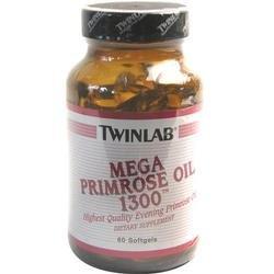 Image 0 of Primrose Oil 1300Mg Mega 60 Cap 1 By Twinlab