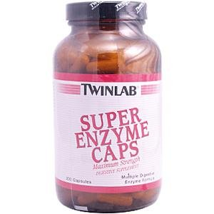 Image 0 of Super Enzyme Max Strength 200 Cap 1 By Twinlab