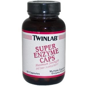 Image 0 of Super Enzyme Max Strength 50 Cap 1 By Twinlab