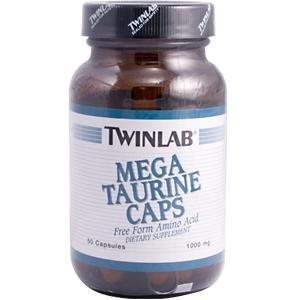 Image 0 of Taurine 1000mg Mega 50 Cap 1 By Twinlab