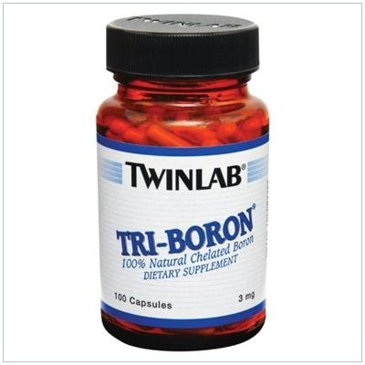 Image 0 of Tri-Boron 3mg 100 Cap 1 By Twinlab