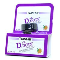 Image 0 of Vit D3 1000 & K2 Dots 60 Ct 1 By Twinlab