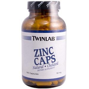 Image 0 of Zinc 50mg 180 Cap 1 By Twinlab