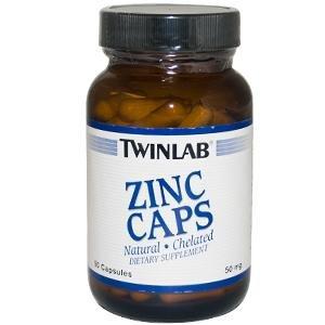 Image 0 of Zinc 50mg 90 Cap 1 By Twinlab