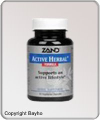 Active Herbal 60 Cap 1 By Zand