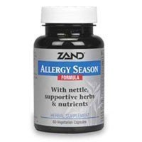 Allergy Season Formula 60 Cap 1 By Zand