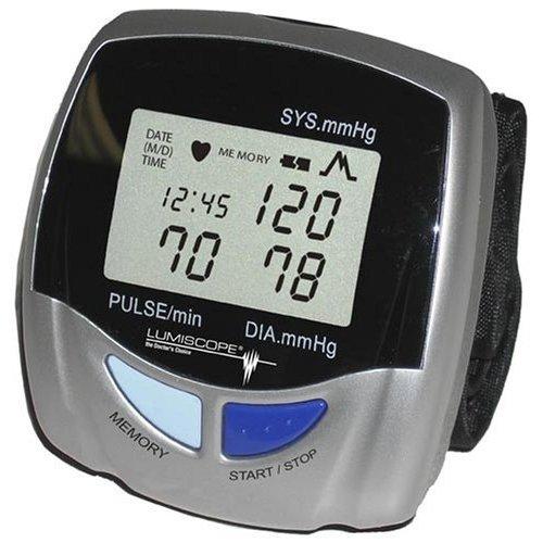 Image 0 of Lumiscope Blood Pressure Monitor Automatic Wrist 1143