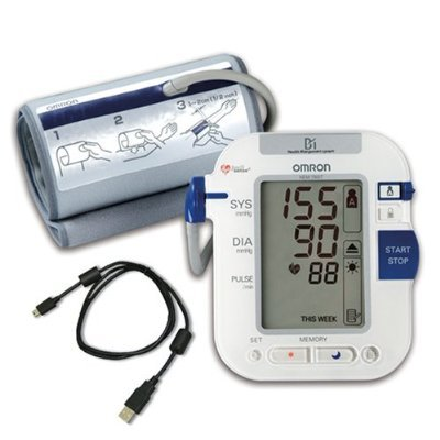Image 0 of Blood Pressure Monitor With Comfit Ultra Premium 1 Each Mfg. By Omron Healthc