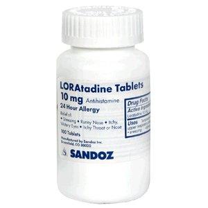 Loratadine Mfg By Sandoz 10 Mg Tablets 100