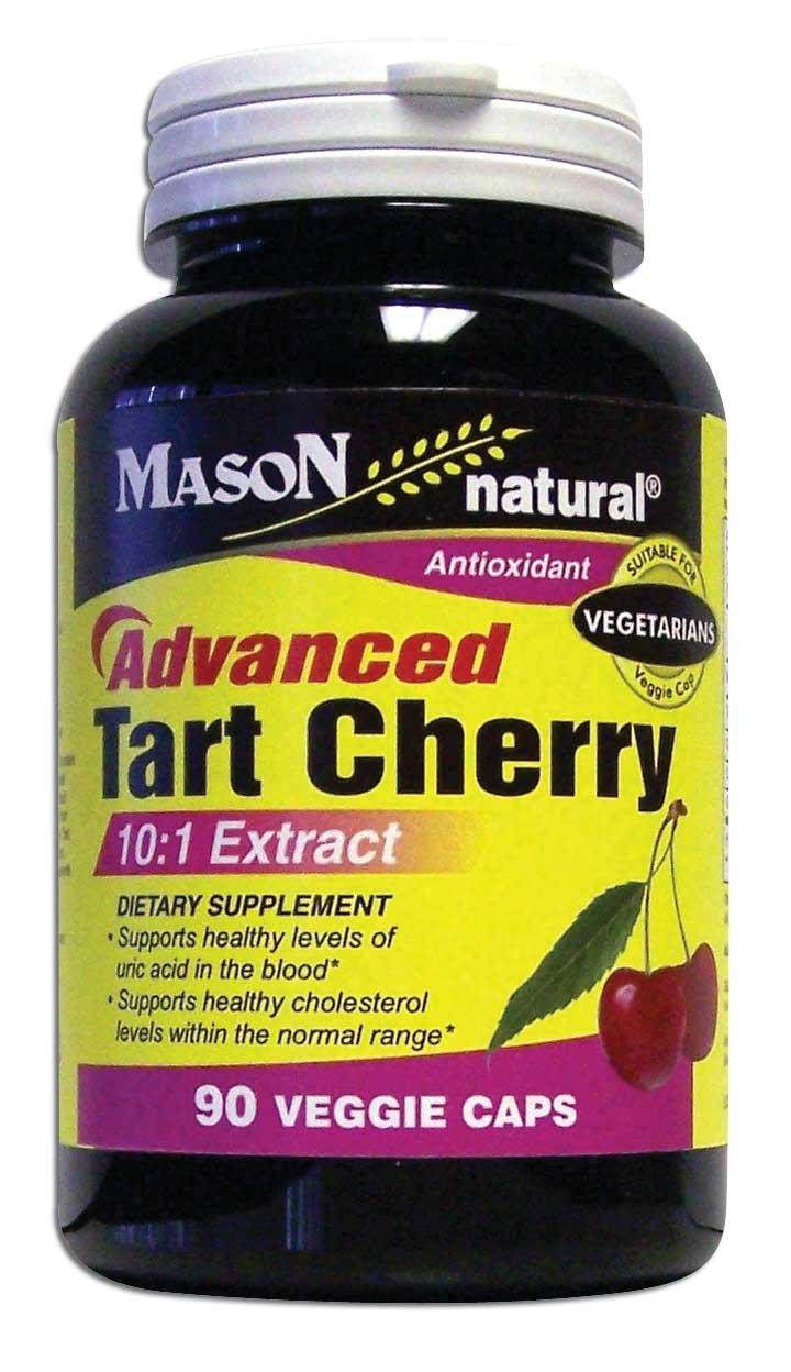 Image 0 of Advanced Tart Cherry Extract Dietary Supplement Veggie Caps 90