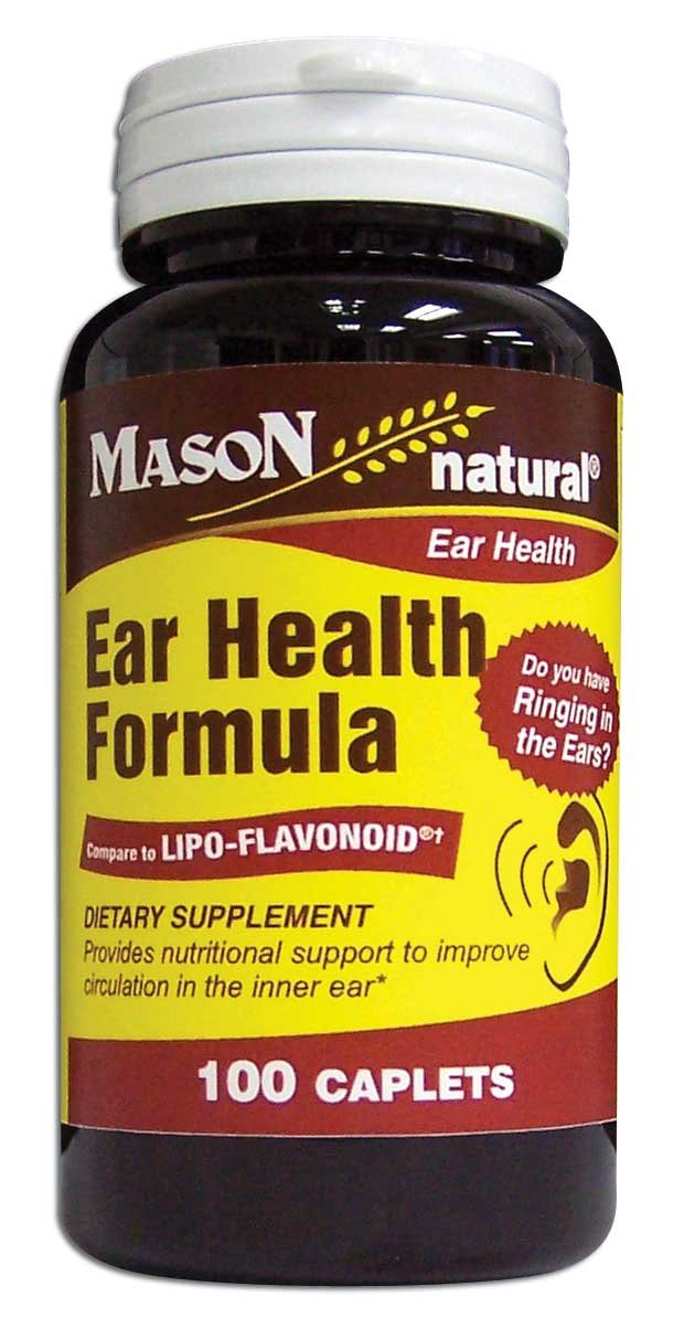 Image 0 of Ear Health Formula Dietary Supplement Caplets 100