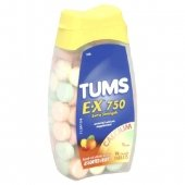 Image 0 of Tums Extra Fruit Flavor Tablets 48 Ct.