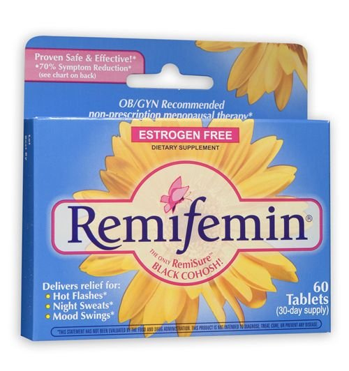 Remifemin Estogen Free 60 Tab Mfg. By Enzymatic