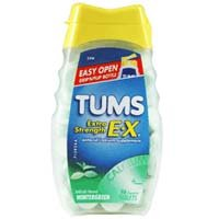 Image 0 of Tums E-X Extra Strength Wintergreen Antacid Tablets 96