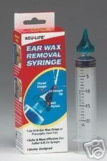 Aculife Ear Wax Removal Syringe.