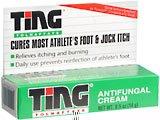 Ting Antifungal Cream 0.5 Oz