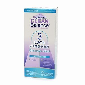 Rephresh Vaginal Clean Balance 3 Day Kit