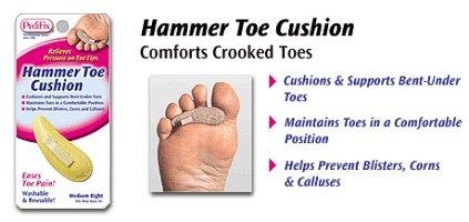 Image 0 of Pedifix Special Order Hammer Toe Cushion Medium Right
