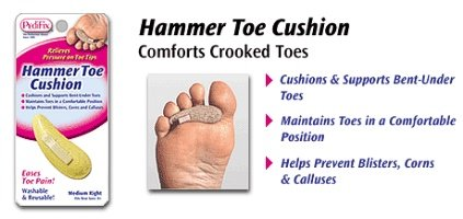 Image 0 of Pedifix Special Order Hammer Toe Cushion Medium Left