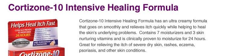 Cortizone 10 Intensive Healing Formula 1 Oz